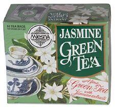 Mlesna Pure Ceylon Jasmine Green Tea - 50 Tea Bags 100g Boxes .