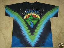Jerry Garcia Band JGB Mountain Cat S, M, L, XL, 2XL, 3XL, 4XL Tie Dye T-Shirt