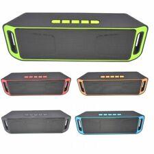 Boom Box Bluetooth Speaker 4.0 Portable FM Radio Boomboxes Wireless Speakers USB