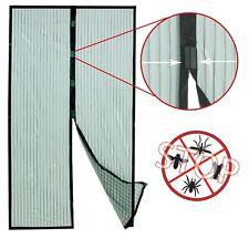 Grafner Insektenschutz Tür 210 x 100 cm Türvorhang Magnet Vorhang Fliegengitter