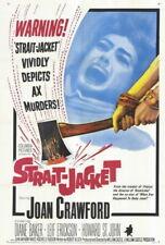 70724 Strait-Jacket Movie Joan Crawfor Leif Erickson Wall Poster Print Affiche