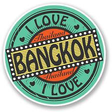 2 x Bangkok Thailand Sticker Car Bike iPad Laptop Travel Luggage Thai Gift #4281