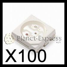 100 x Led SMD 5050 RGB. Ideal para hacer iluminación de cualquier manera!!!