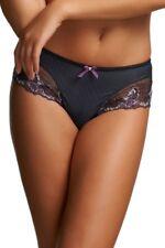 FANTASIE Sarah Short Brief LINGERIE Purple Stripe Size XS FL2625 BRAND NEW