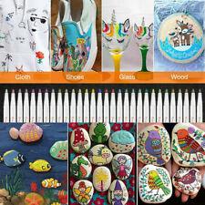 Premium Acrylstifte Marker Stifte für Steine, 20-30 Farben DIY Marker Paint Pen