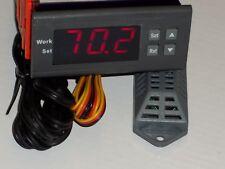 Control Cigar Humidor Box Cabinet Relative Humidity Humidifire System Hygrometer