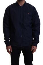 Farah Richards Zip Bomber Jacket in Yale Blue SALE RRP £75