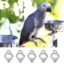 5Pcs Parrot Leg Ring Activity Ankle Foot Ring Bird Outdoor Flying Training Hf