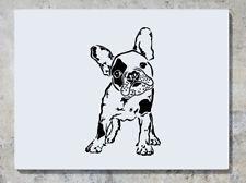 Bouledogue Français Chien Animal de Compagnie Autocollant Mural Art Sticker