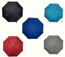 Windproof Anti-UV Rain Sun Soft Grip Fully Automatic Umbrella 3 Folds Compact