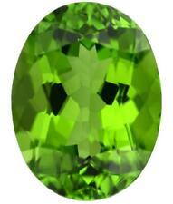 Natural Fine Crisp Apple Green Peridot - Oval - Pakistan - Top Grade