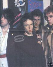 THE CLASH POSTER Magazine Gatefold 1980 Joe Strummer