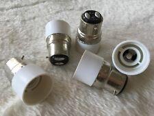 Adaptateur douille B22 mâle - E14 femelle pour ampoule culot neuf 8-37
