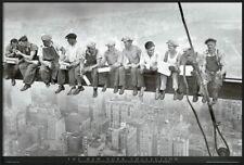 91947 EATING ABOVE MANHATTAN ART MEN ON GIRDER Decor WALL PRINT POSTER FR