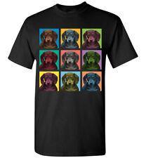 Dachshund Dog Pop-Blocks T-Shirt - Men Women Youth Tank Long Sleeve Tee