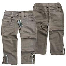 Rasberry Damen Stoffhose Shorts 7/8  Sommer Schwarz Gr. DE 36, DE 46 NEU