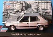 TALBOT HORIZON PREMIUM 1983 IXO ALTAYA 1/43 SILVER NEW
