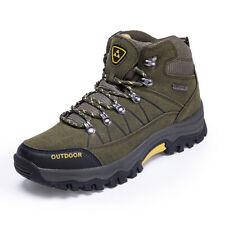 Men's Hiking High Top Fashion Outdoor Trekking Sneakers Mountain Climbing Shoes