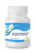Calcium Magnesium Vitamin D3 30/60/90/120/180/250 Tablets Pills