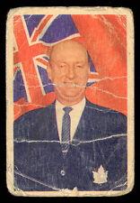 1963 64 PARKHURST 19 PUNCH IMLACH MAPLE LEAFS LG HOCKEY CARD