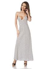 Stylisches lässiges Maxikleid Sommer Strand Kleid S 34 M 36 L 38 XL 40 Top!