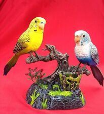 BELLISSIMA 2PCS PAPPAGALLO PARLANTE RIPETE Bird Voice Sound Recorder Pen Holder giocattolo