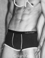 Calvin Klein ONE Men's Underwear - MICRO LOW RISE TRUNK U8516-100