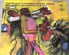 CANNONBALL ADDERLEY Live Session LP RARE UK ST-2284