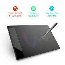 """10x6"""" Professional 5080LPI Digital Art Graphics Drawing Tablet Signature Pad+Pen"""