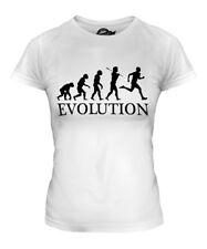 RUNNER EVOLUTION OF MAN LADIES T-SHIRT TEE TOP GIFT MARATHON JOGGING