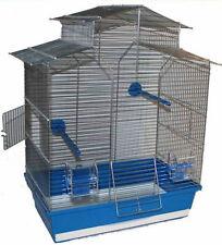 60 cm Vogelkäfig Vogelbauer Wellensittich Kanarien Voliere Vogelhaus Iza  ohne