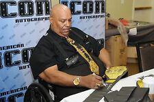 Abdullah The Butcher Signed WWE Championship Belt PSA/DNA COA Auto'd WCW HOF WWF