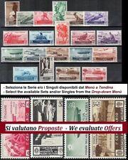 ** Italia 1934: MEDAGLIE AL VALORE [20 valori] Serie e Singoli Posta