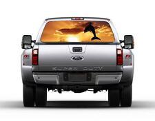 Dolphin Sunset Car Rear Window Graphic Decal Sticker Truck SUV Van 015