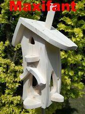 Vogelhaus,Nistkasten,Vogelvilla,zum selbst bemalen, L