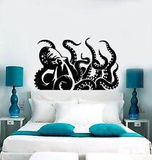 Vinyl Wall Decal Giant Octopus Kraken Marine Monster Tentacles Stickers (ig5065)