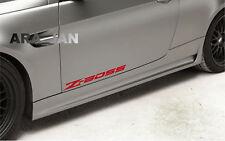 Z - BOSS Decal Sticker sport racing car door logo motorsport auto performance