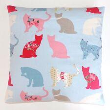 Vintage/Shabby Chic Clarke and Clarke Felix Sky Blue fabric Cushion Cover