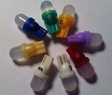 LED Type # 555 satinato per playfield inserisce sul vostro FLIPPER. confezione da 10 (alcuni GI)