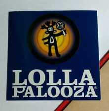 LOLLAPALOOZA LOLLA PALOOZA JURASSIC INCUBUS DONNAS AUDIOSLAVE DARK BLUE STICKER