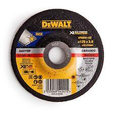 DeWalt EXTREME RUNTIME METAL GRINDING DISC Ceramic Grain- 125x3mm Or 125x6mm