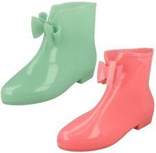 Ladies Spot on GLOW in il Scuro Caviglia Stivali Di Gomma