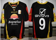 messina shirt maglia corona nr 9 taglia L 2012-13 + toppa lega calcio lnd