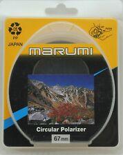 NEW Marumi Circular Polarizer 58mm,62mm,67mm Japan Camera Lens Filter
