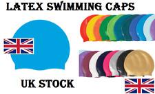 Swimming Pool CAP Unisex Adult Kids Children Silicone Swim Hat Waterproof Shower