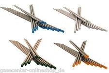 WIG Elektroden Grau Grün Gold Blau 1,6 und 2,4mm Wolframelektrode WIG Nadeln