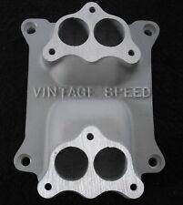 HOT ROD RAT-(FL-CA-5H) -STROMBERG 97- 94  2x2 to 4V -3 bolt Carb adapt.TRI POWER