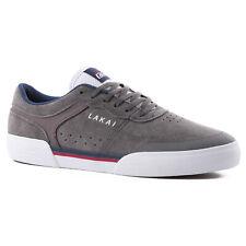 Lakai Skateboard Shoes Staple Grey Suede