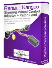 Renault Kangoo steering wheel control lead, car stereo stalk adapter interface