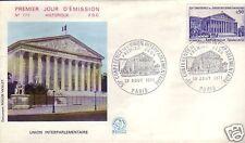 1688+ FDC ENVELOPPE 1er JOUR  CONFERENCE INTERPARLEMENT